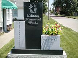 whitney-monument-statue